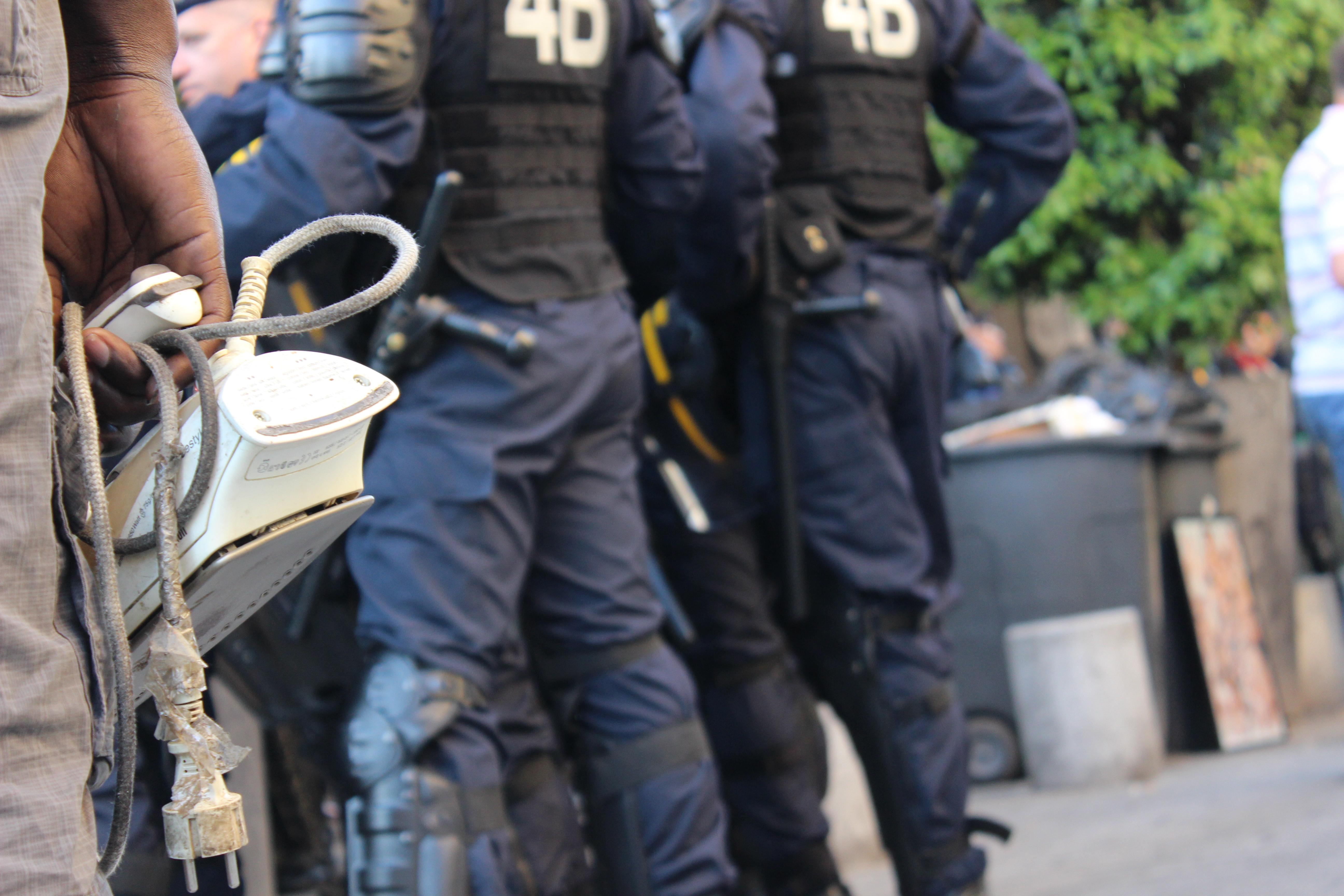 Expulsion des sans papier à Saint-Denis
