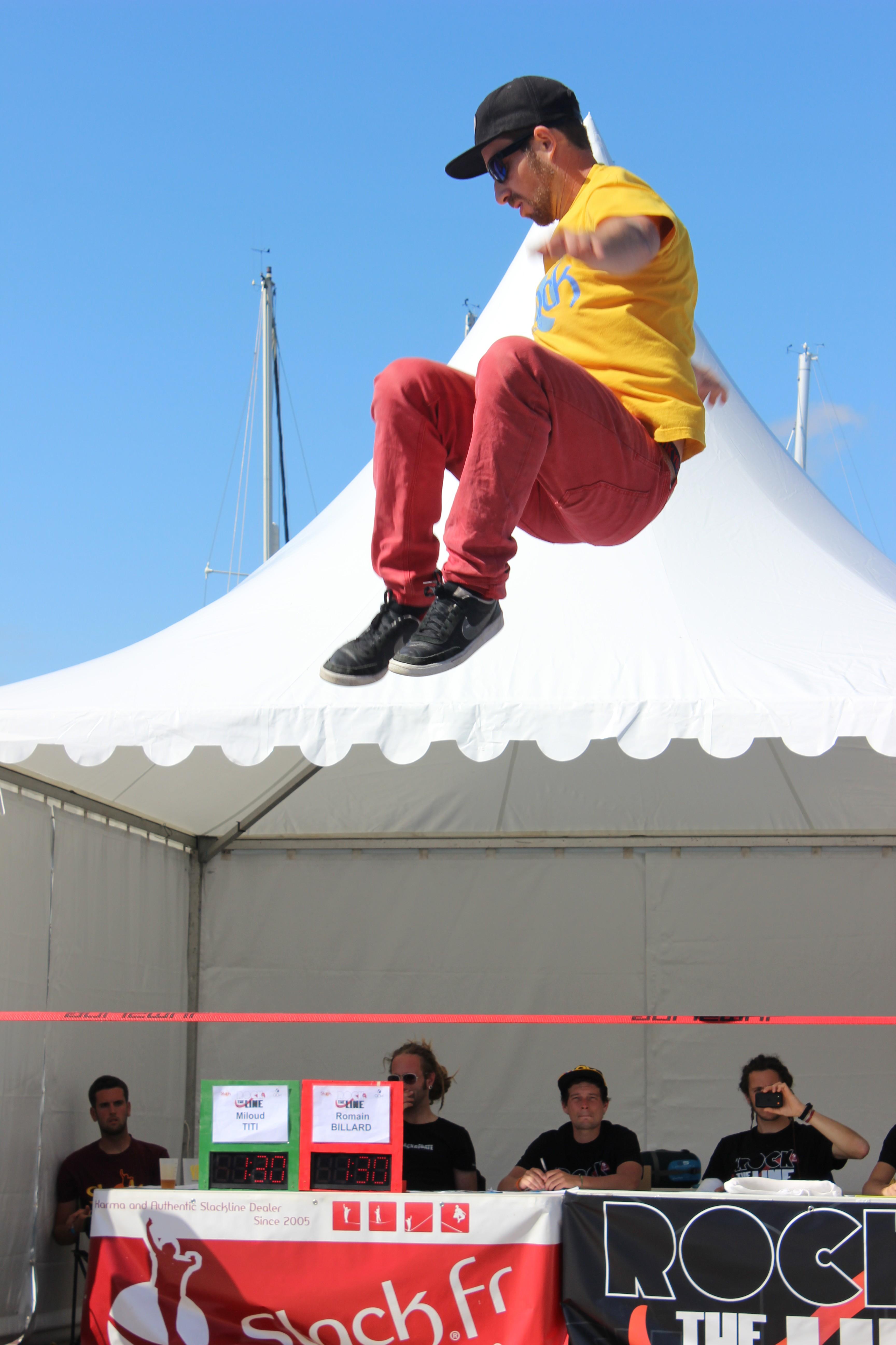 Le premier Vertical Océan Camp de France avait lieu à La Rochelle, avec les meilleurs grimpeurs mondiaux, le 25 avril 2015. Gérôme Pouvreau remporte le trophée chez les hommes et Florence Pinet chez les femmes.