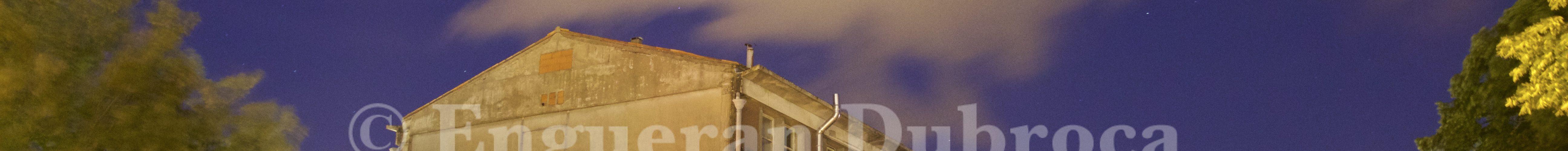 Photos nocturnes de la friche du Gabut à La Rochelle
